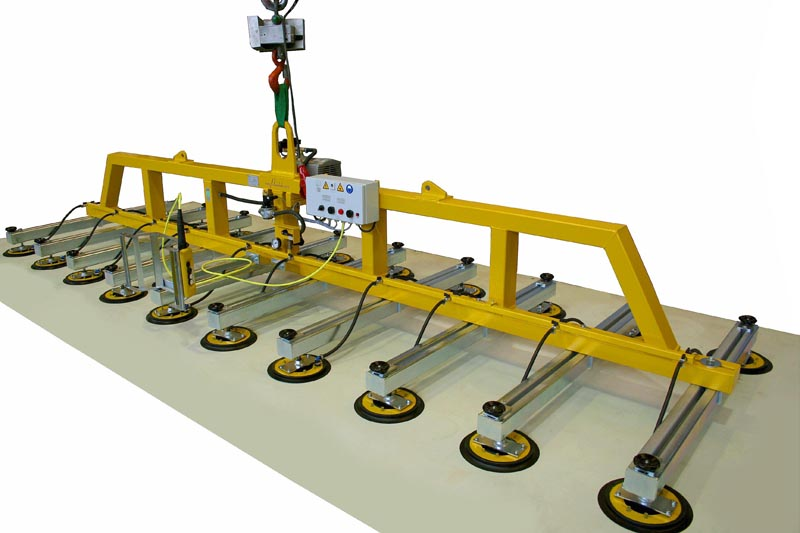 Panel Lifting Devices : Vacuum lifter h the big helper for horizontal