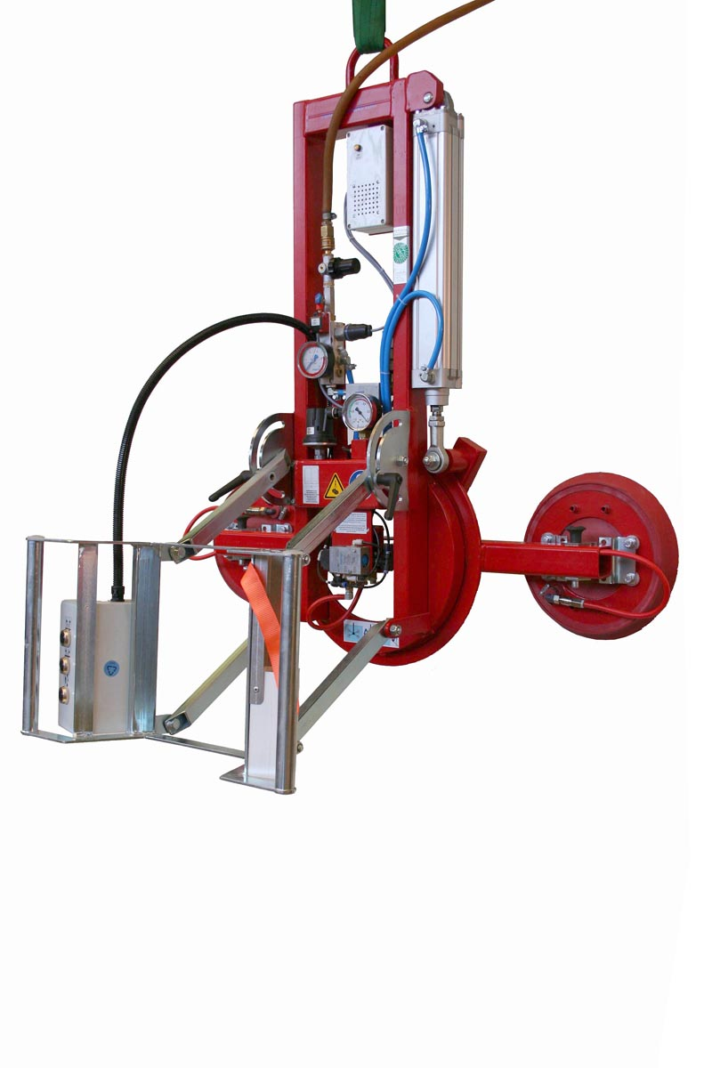 Vacuum Lifting Device For Glass Enhancement With Pneumatic